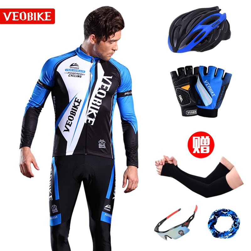 Только для отправки демисезонный Велоспорт мужской длинный рукав комплект Горный велосипед зимний Велосипед флис Джерси женские брюки обычай