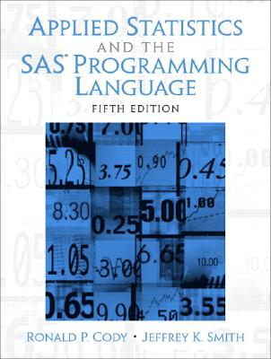 【预售】Applied Statistics and the SAS Programming Language