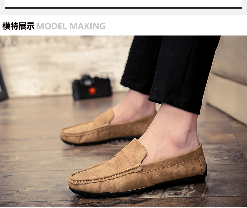 Spring and autumn new youth trend shoes flat comfortable casual men's shoes 51