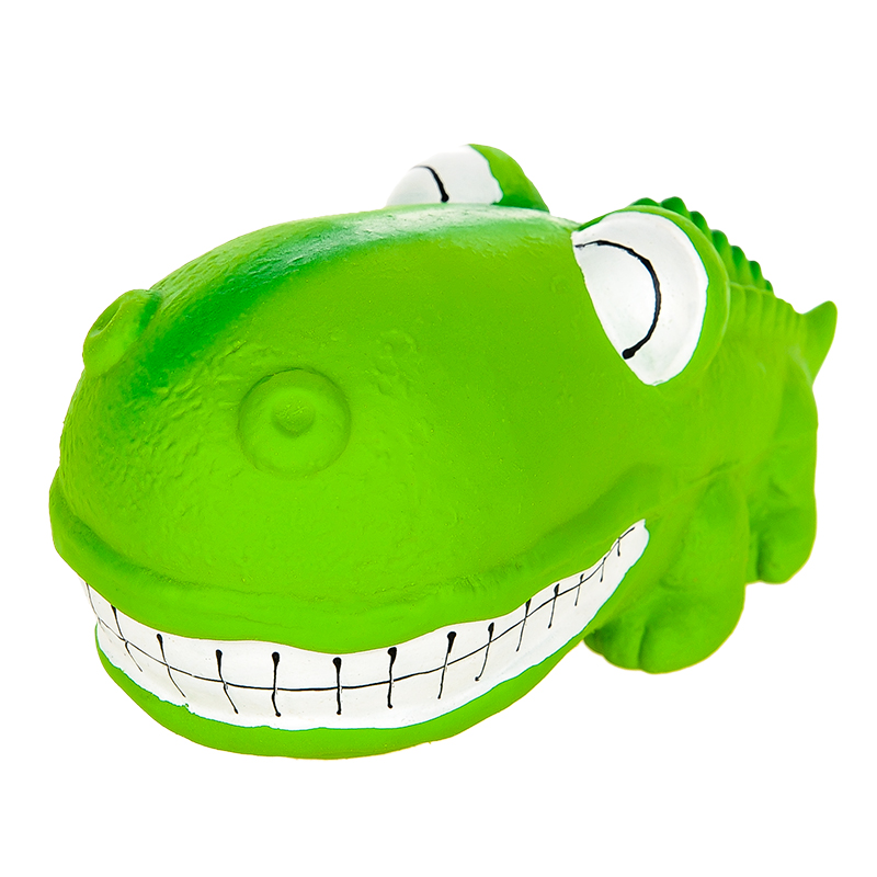 LATEX CROCODILE LARGE (GREEN)