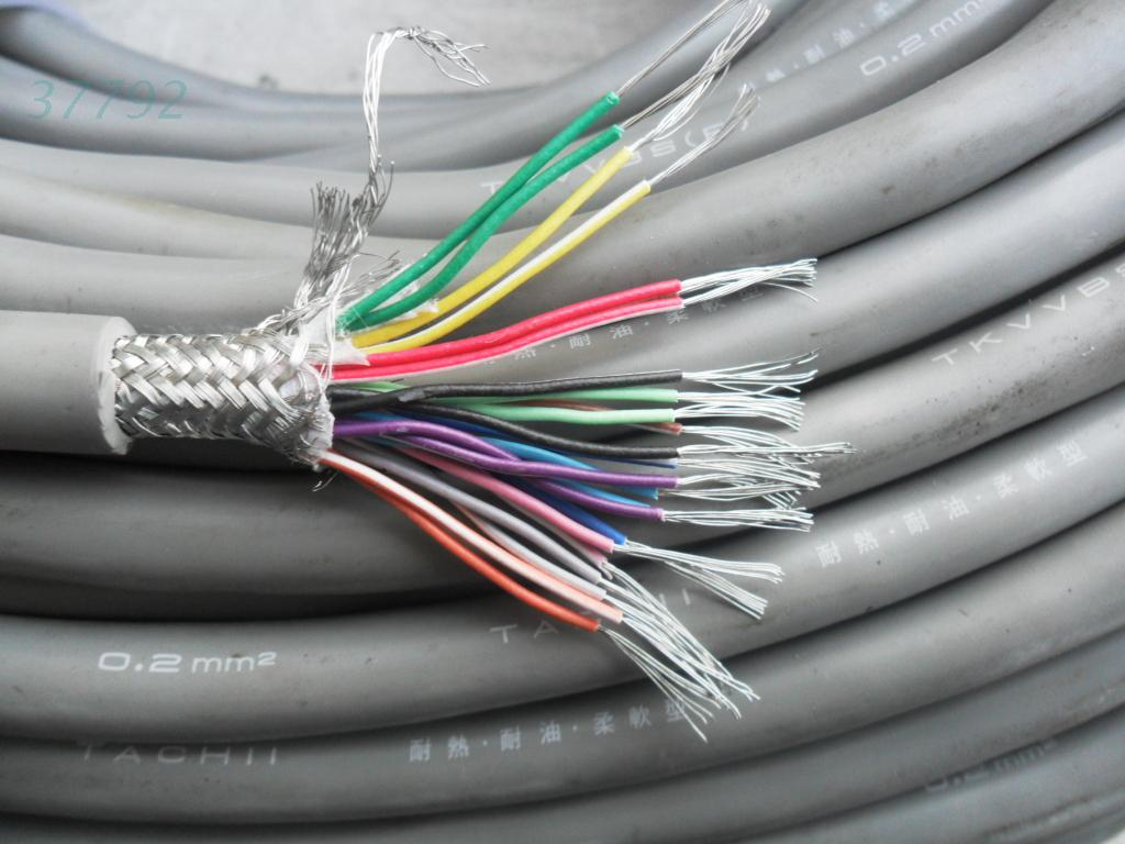 USD 7.68] Imported used twisted-pair shielded cable 24 core x0 2 ...