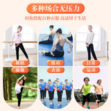 Children's Harlan dance pants girls summer dance clothes suit Latin Chinese dance practice clothes loose black pants
