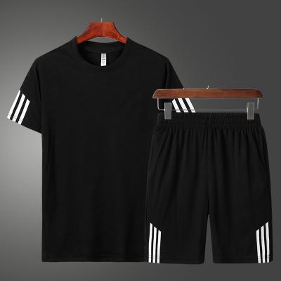 男士短袖套装夏季2020新款韩版潮流衣服潮牌休闲帅气一套男装搭配