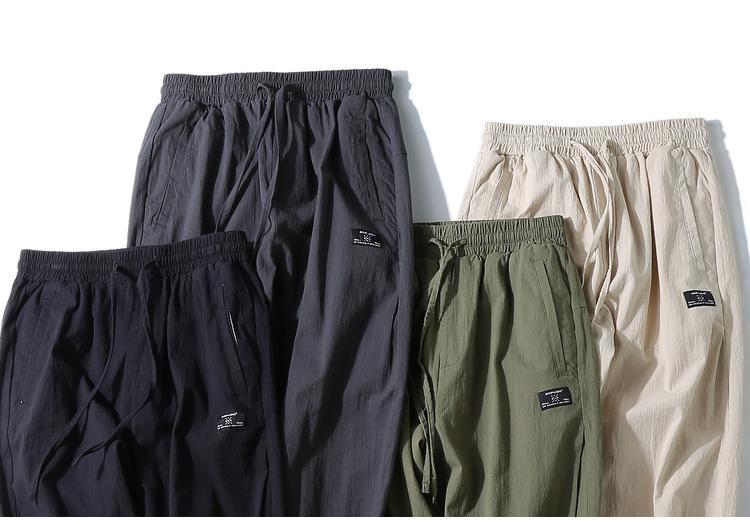 GK1729四色束脚裤  P65