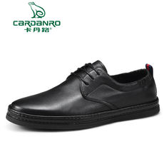 c1b0cf45cfef Kadan Road autumn lace Korean version of the simple black fashion men s  shoes