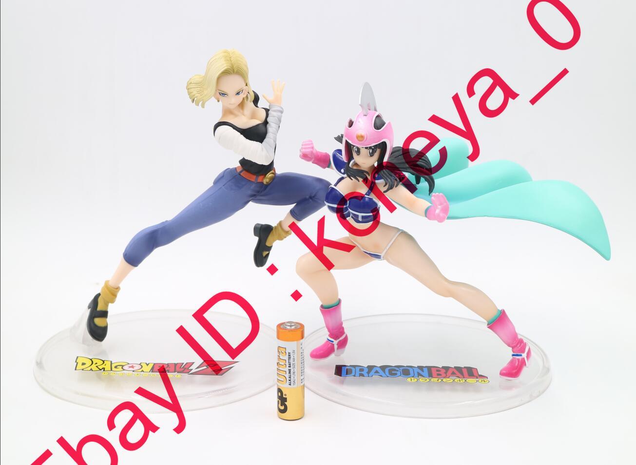 III PVC figure NO BOX Anime Dragon Ball Gals Android 18 lazuli Krillin wife ver