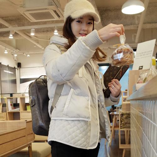 2015冬装新款羽绒棉衣女韩版大码加厚小棉袄外套短款修身棉服