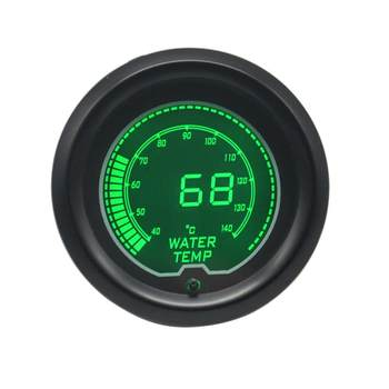 52mm digital display LED colorful 12v car racing motorcycle modified water temperature meter car instrument modification accessories