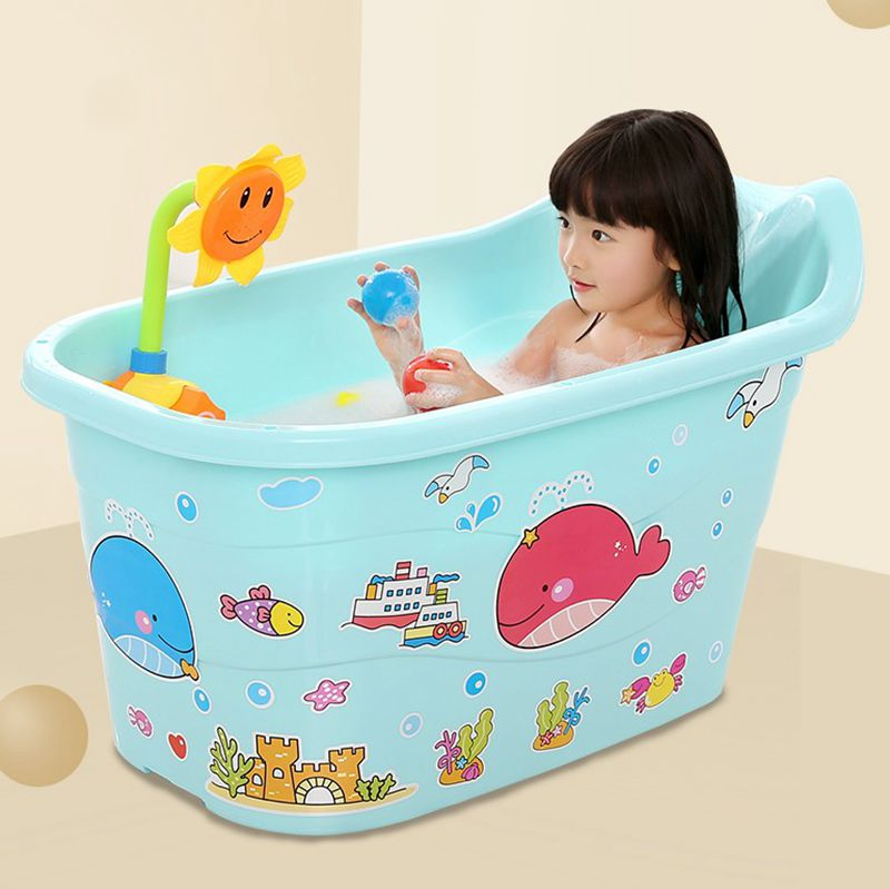 USD 20.76] Oversized baby shower bucket children\'s bath bucket men ...