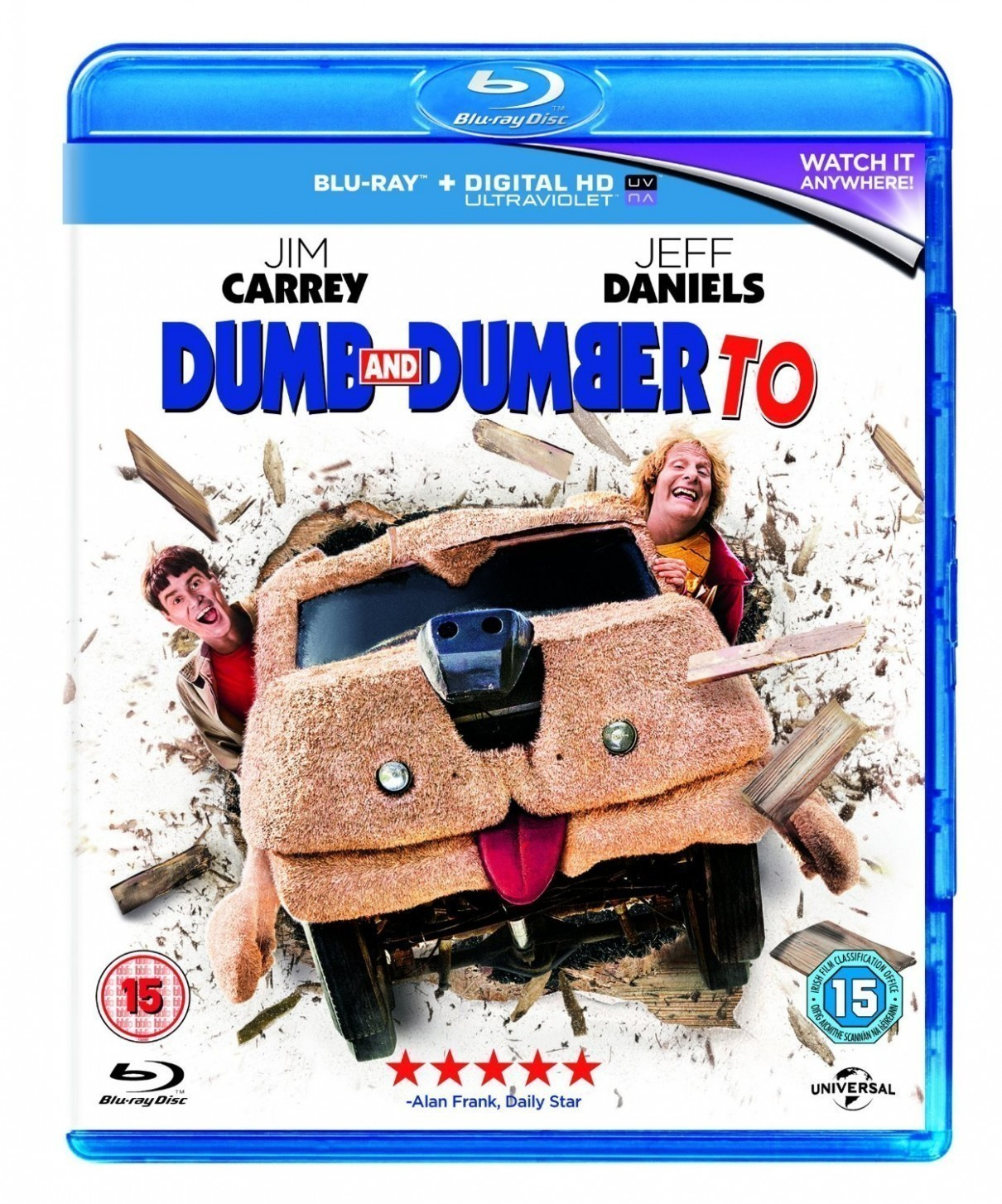阿呆与阿瓜2 Dumb And Dumber To 2014 1080p BluRay x264-SPARKS