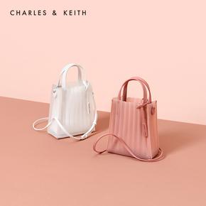 CHARLES & KEITH желе пакет  CK2-30780794 прозрачный мисс портативный уход специальный одноместный мешок, цена 5053 руб