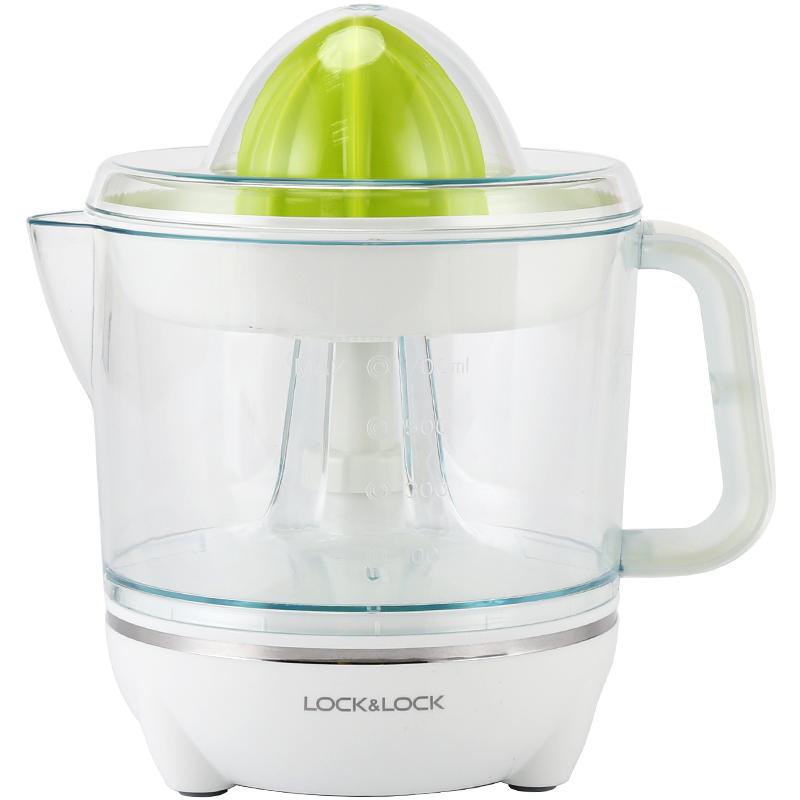 乐扣乐扣家用小型榨橙汁机电动柳橙子柠檬水果渣汁分离榨汁机器