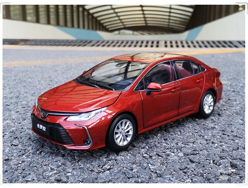 Xe mô hình  tĩnh Toyota Corolla Altis 2019 tỉ lệ 1:18 - ảnh 17
