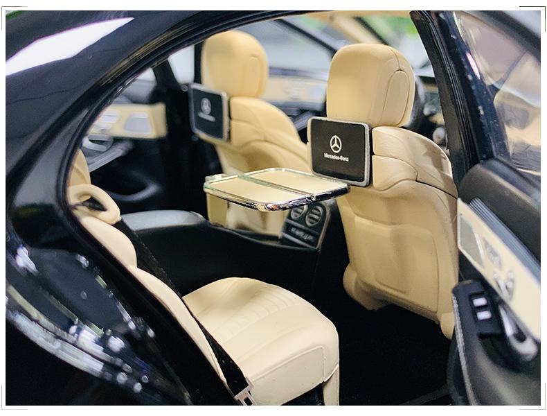 Xe mô hình tĩnh Mercedes-Benz S450L tỉ lệ 1:18 - ảnh 11