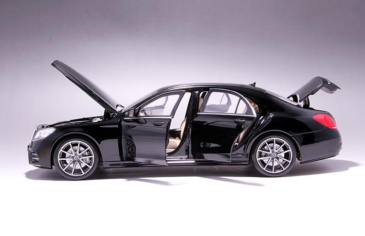 Xe mô hình tĩnh Mercedes-Benz S450L tỉ lệ 1:18 - ảnh 25