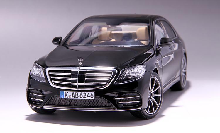 Xe mô hình tĩnh Mercedes-Benz S450L tỉ lệ 1:18 - ảnh 24