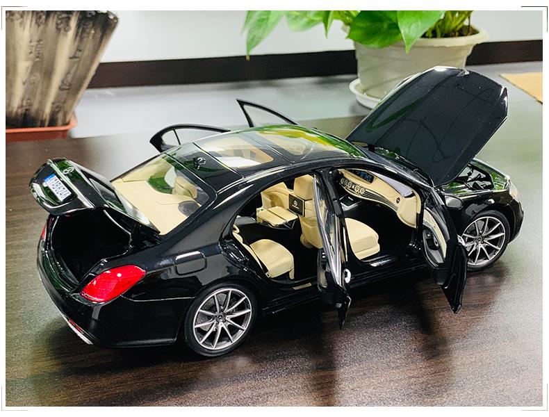 Xe mô hình tĩnh Mercedes-Benz S450L tỉ lệ 1:18 - ảnh 8