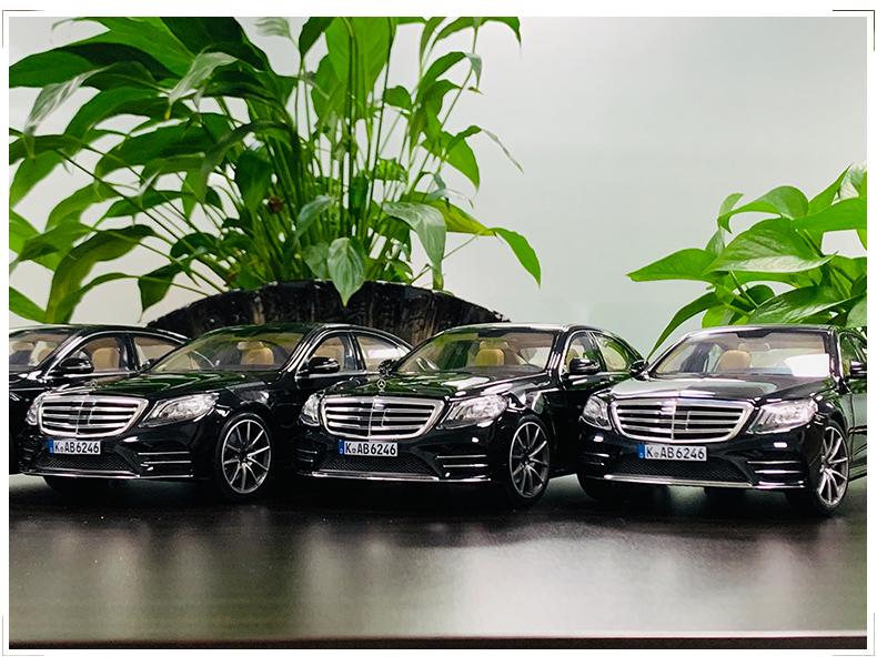 Xe mô hình tĩnh Mercedes-Benz S450L tỉ lệ 1:18 - ảnh 5
