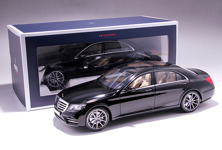 Xe mô hình tĩnh Mercedes-Benz S450L tỉ lệ 1:18 - ảnh 32