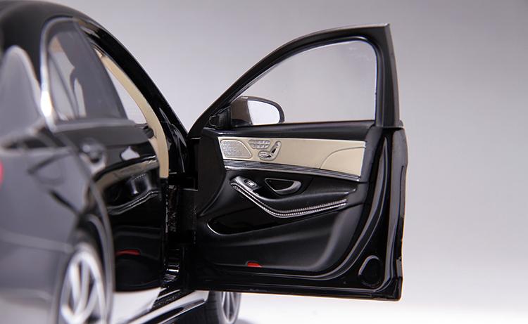 Xe mô hình tĩnh Mercedes-Benz S450L tỉ lệ 1:18 - ảnh 29