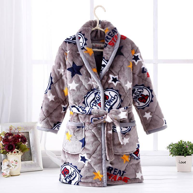 Цвет: Стеганый мягкий халат Серая звезда