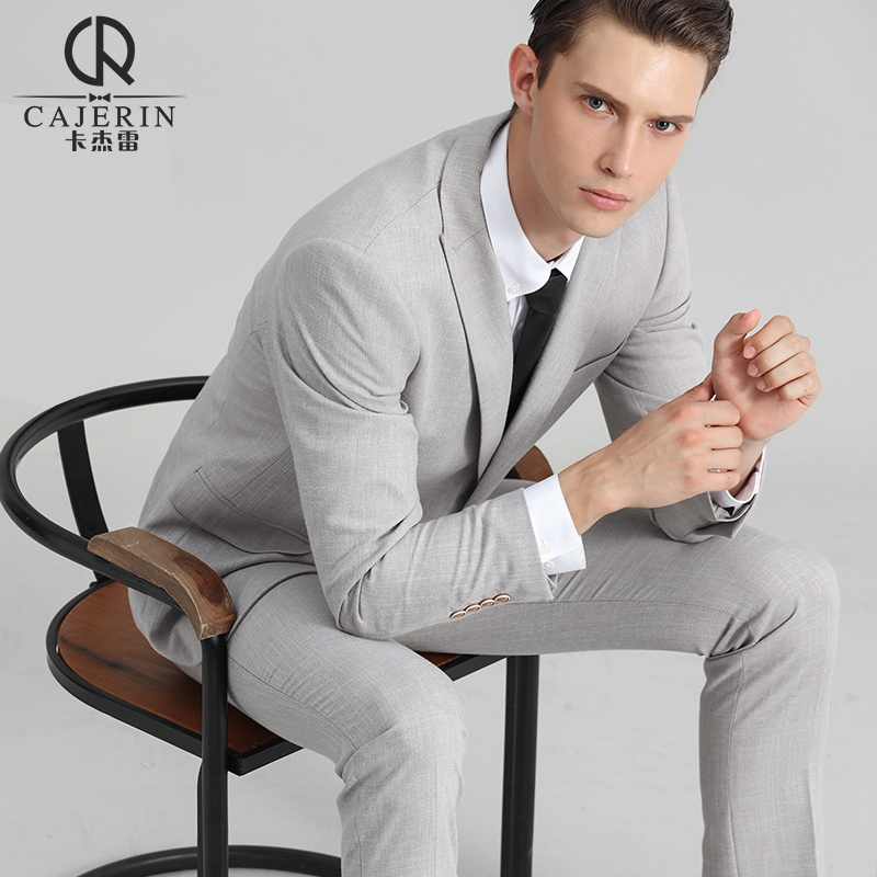Groom Suit Young Men Korean Handsome Professional Business Suits Custom Wedding Best Man