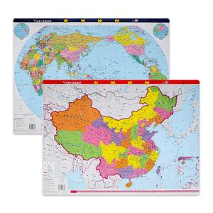 2019年新版中国地图+世界地图