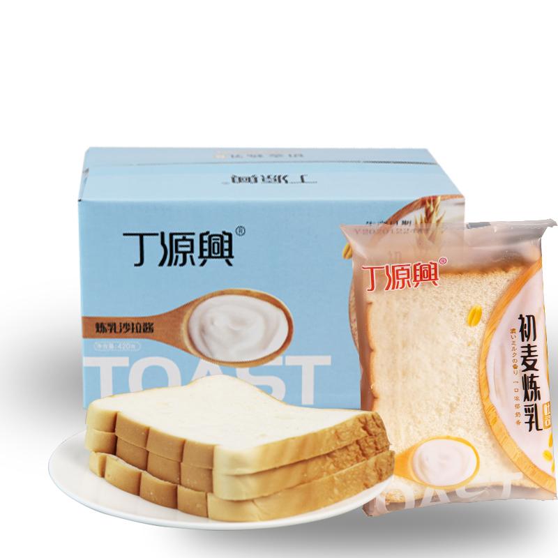 【丁源兴】炼乳夹心代餐吐司420g