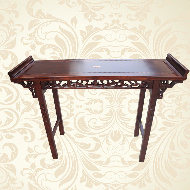 Антикварный письменный стол Специальные деревянные предметы китайского антиквариата минималистский деревянный стол для случае п. стол несколько покоробило головой 香案 живопись стол