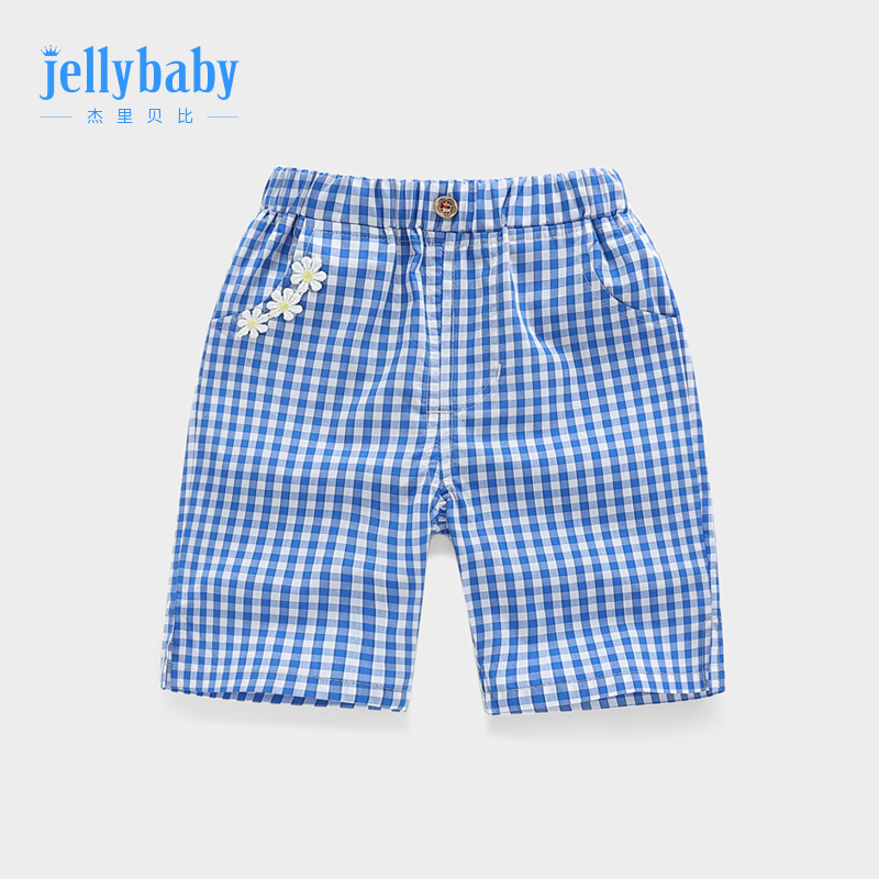 Women's five-point pants summer thin paragraph 3 years old baby pants children cotton summer pants baby casual pants 6 girls in the pants