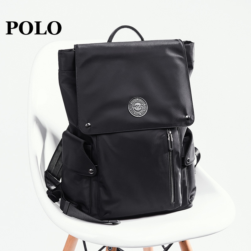 1dab2a16cf Polo backpack men s shoulder fashion trend simple shoulder bag men s  business casual men s backpack men s bag