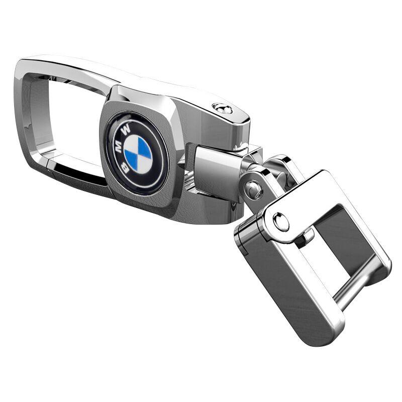 不锈钢汽车钥匙扣360旋转腰挂遥控器