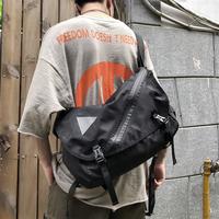 Бренд Tide большой емкости Messenger пакет мужские и женские Уличная хип-хоп функция Harajuku пакет ins один плечо пакет механическая обработка пакет книга пакет мужской