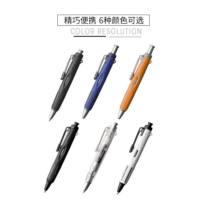 日本进口TOMBOW蜻蜓气压油性圆珠笔AIrPress 旅行伴侣 BC-AP黑芯学生用气压原子笔油笔商品详情图