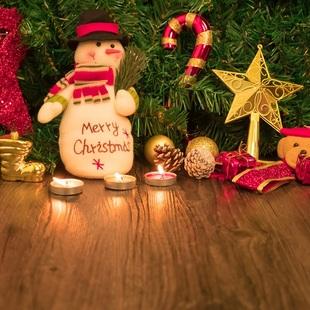 加点活泼装饰,让圣诞嗨皮加倍!