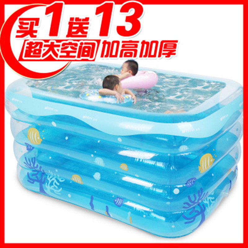 Ying Tai baby swimming pool inflatable insulation baby baby swimming pool  home newborn swimming bucket large