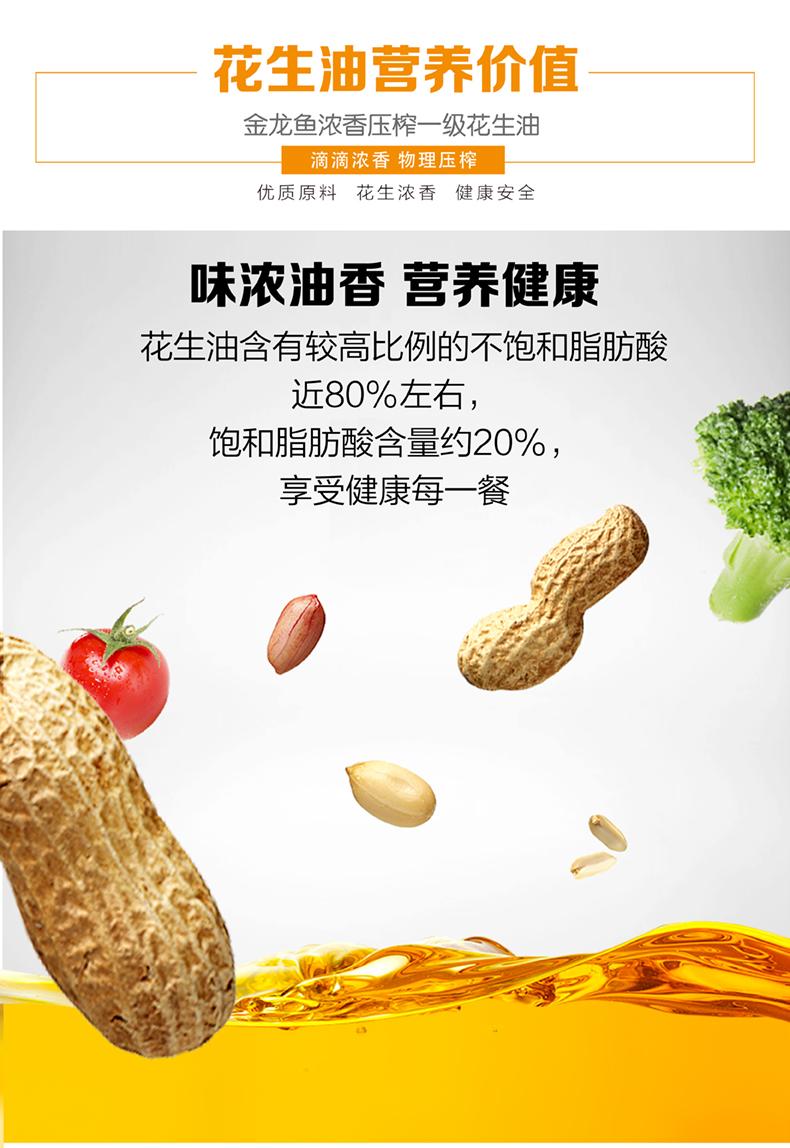 金龙鱼花生油郑州代理商家