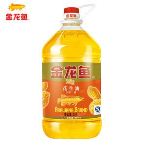 金龙香浓香花生油5L 物理压榨一级