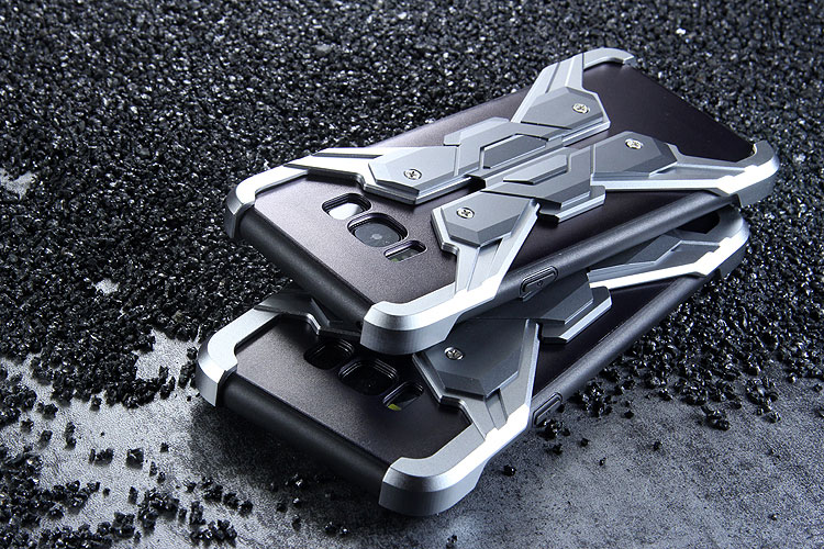 Luphie Neo Armor EVA Wings Shockproof TPU Metal Case Cover for Samsung Galaxy S8 Plus & Galaxy S8
