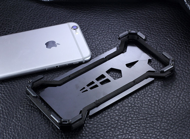 S.CENG Spider-Man Shockproof Aerospace Aluminum Metal Shell Case Cover for Apple iPhone 6S Plus/6 Plus & iPhone 6S/6