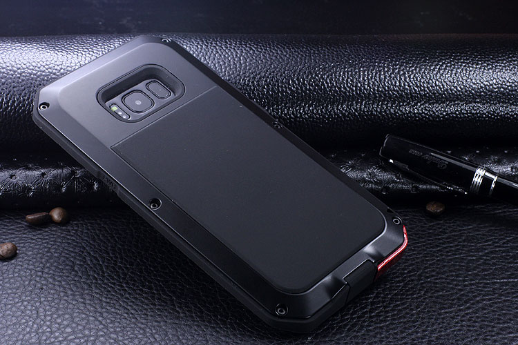 R-Just Extreme Premium Protection System Aluminum Heavy Duty Metal Case for Samsung Galaxy S8 Plus & Galaxy S8