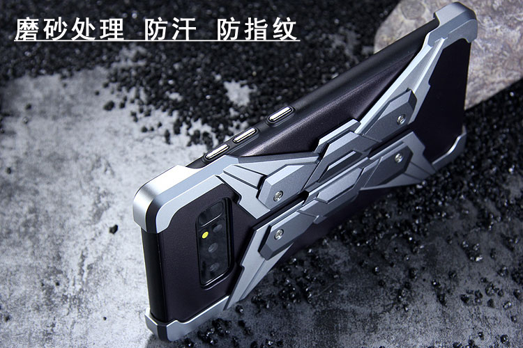 Luphie Neo Armor EVA Wings Shockproof TPU Metal Case Cover for Samsung Galaxy Note 8
