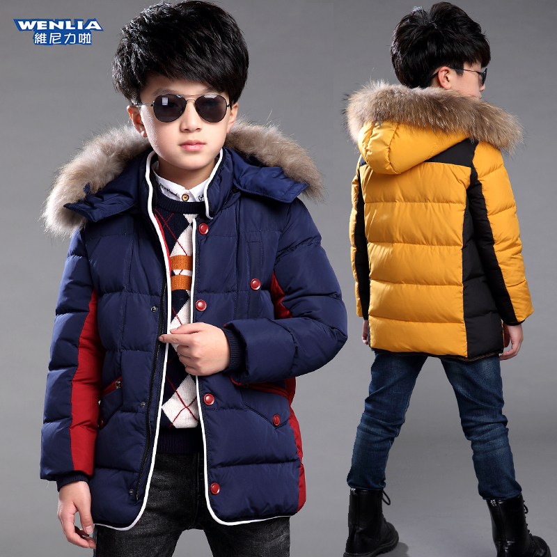 819e27ff63e0 6 winter 7 boys padded coat 5 jacket 8 children 9 boys 11 autumn and winter  2017 new jacket 12 years old 10