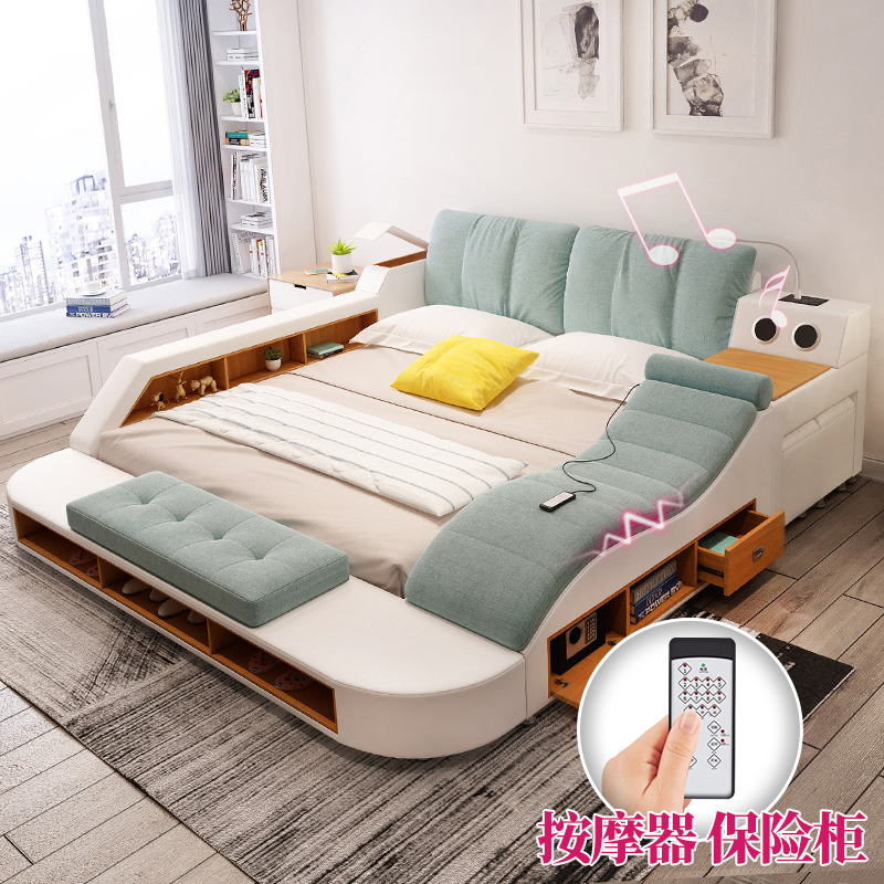 Usd Massage Tatami Bed In Master Bedroom Modern Minimalist Soft Bed The Marriage Bed