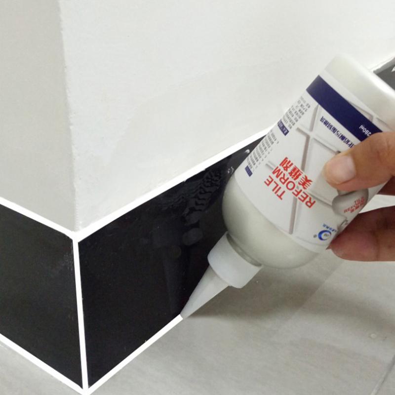 Tile beauty grout glue floor tile gap sealant kitchen ...