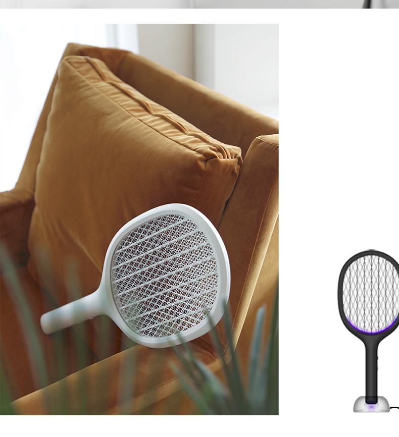 小米生态链 素乐 充电式智能电蚊拍 诱蚊灭蚊2合1 图4