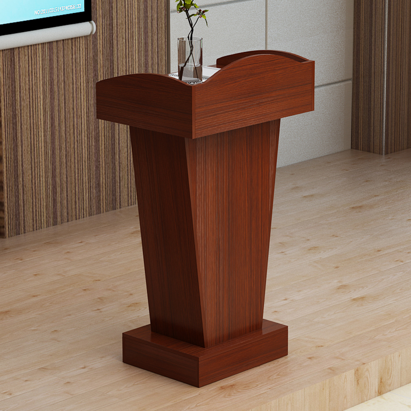 Podium Welcome Desk Receptionist Speak Training Desk