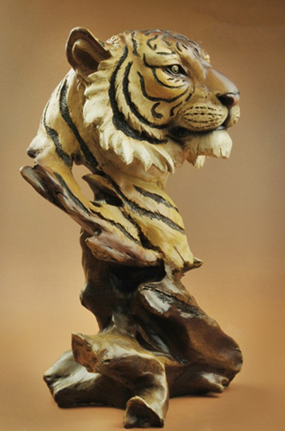 "11"" High Creative Nice Resin Big Cat Tiger Head Bust ..."