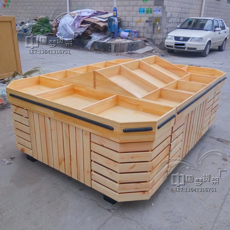 Personnalis magasin de fruits tag res en bois solide de for Bureau meuble en vrac