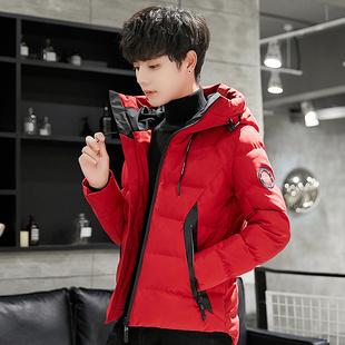 男士棉衣2018新款韩版潮流学生加厚冬天棉袄帅气迷彩棉服短款外套